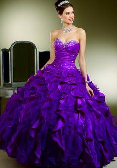 Voor de vrouwen die van kleur houden. Purple but pretty