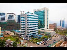 RWANDA, KIGALI downtown - Beautiful cleanest City in Africa 2014