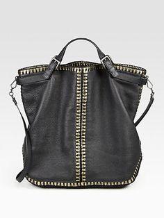 Bottega Veneta - Cervo Large Messenger Bag - Saks.com
