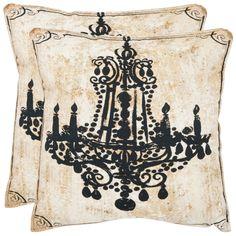 Velleron 18-inch Antiqued Beige Decorative Pillows (Set of 2) | $49.99