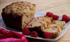 Increíble, es poco: pastel con frambuesas y almendras