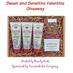 Sweet and Sensitive Valentine Giveaway - Beauty Brite