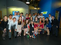 Tech Trek students @ WePay, co-founded by BC grads Bill Clerico and Rich Aberman.