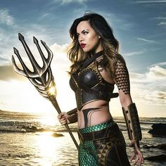 Cosplayer Raquel Sparrow looks positively AMAZING as Aquaman | Unite the Sevens | by @daryllynchphotography