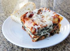 This is a classic tried-and-true spinach lasagna recipe, simple and delicious. Whether you are a meat eater or not, you will love this meat-free lasagna.