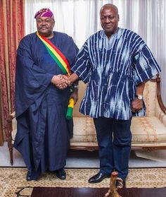 Ghana gives Adenuga highest honour   Mike Adenuga and President Mahama  Globacom Chairman Dr. Mike Adenuga has been conferred with Ghanas highest honour. The conferment of The Companion of the Star of Ghana (CSG) on the man fondly called The Guru was held at the Accra International Conference Centre on Saturday 29 October. President of Ghana Mr. John Dramani Mahama said the Award is in recognition of your unique and outstanding contribution to business enterprise both in Ghana and the…