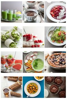 A collection of  favorite recipes on Gourmande in the Kitchen from each month in 2014.