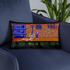 Point and Click Adventure Pillows - Monkey Island, Maniac Mansion etc. Day Of The Tentacle, Fawlty Towers, Only Fools And Horses, Monkey Island, Adventure Games, Monty Python, Back To The Future, New Kids, Mansion