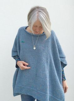 Ravelry: Georgetown Poncho pattern by Martha Wissing