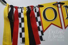 Ferrari birthday party decorations * Ferrari first birthday * Ferrari high chair banner * race car party * race car birthday * Ferrari by declanandsmith on Etsy https://www.etsy.com/listing/532821507/ferrari-birthday-party-decorations