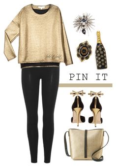 """""""New Year's Pins"""" by boho-at-heart ❤ liked on Polyvore featuring Gucci, Marc Jacobs, Oscar de la Renta, adidas Originals, VALENTINE GAUTHIER and Brunello Cucinelli"""