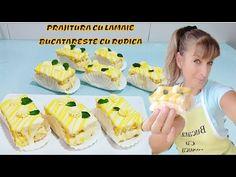 Prajituri Cu Lamaie   Pastelitos Con Limon   BUCATARESTE CU RODICA - YouTube Deserts, Mexican, Ethnic Recipes, Youtube, Food, Essen, Postres, Meals, Dessert