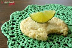 Chewy Coconut-Lime Sugar Cookies #recipes #cookies #desserts