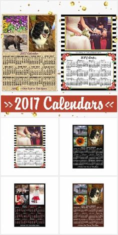 2017 Calendar Products - See Our Whole Collection of Personalized Calendars :) http://www.zazzle.com/collections/2017_calendar_products-119027767143781364?rf=238713858877306074&tc=pin