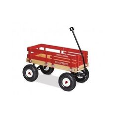 red wagon boat for trick or treating...