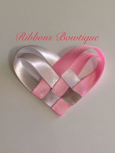 """HOW TO: Make a Valentines Day """"Woven Heart"""" Hair-Clip"""