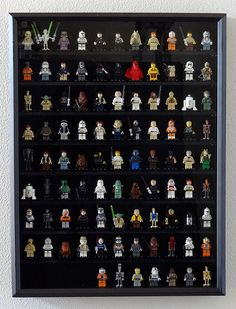 Lego Mini-figures Wall Organize