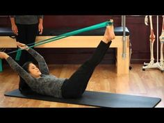 Upside-Down Pilates - Resistance Band - Lesson 56 - Full 30 Minute Pilates Workout - HD - YouTube