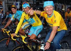 2014 tour-de-france photos stage-21 - Nibali and Vino out for one last ride