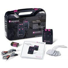 Mystim Pure Vibes Analogue E-Stim Power Unit with Electrodes Dildo, Dessous Shop, Bh Set, Out Of Your Mind, Power Unit, Plugs, The Unit, Pure Products, Digital