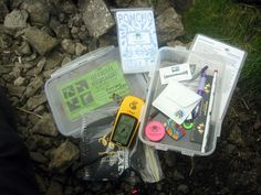 what to bring with you to fix caches that need some TLC (geocaching website)
