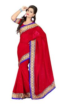 #Fabdeal #Indian #Chiffon #Red #Embroidered #Saree #fabdeal http://www.amazon.in/dp/B00M1QP95W/ref=cm_sw_r_pi_dp_SuuOub0MAP04P