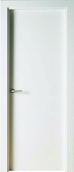 Puerta blindada puertas lacadas y suelo laminado reformes en 2018 pinterest puertas - Puertas lisas blancas ...