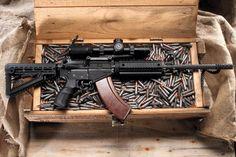 Rock River Arms I want this soo baddd Airsoft Guns, Weapons Guns, Guns And Ammo, Rock River Arms, Battle Rifle, Cool Guns, Assault Rifle, Ak 47, Apocalypse Survival