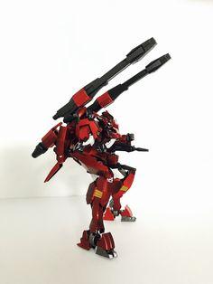 Gundam Flauros, Lego, Sci Fi, Science Fiction, Legos