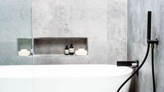 wall recesses for baths - Google Search