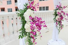 Hyatt Regency Clearwater Beach Resort and Spa: http://www.clearwaterbeach.hyatt.com, Flowers: http://beautifultampaweddings.com Purple, Wedding, Tampa, Orlando, Clearwater. Best Photographer Ever!  Rhodes Studios: http://www.rhodesstudios.com Comment if you have any questions of what other vendors I used, where I bought things or how I made things!