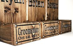 groomsman gift Custom Caps, All Beer, Beer Bottle Opener, Groomsman Gifts, Groomsmen, Projects To Try, Make It Yourself, Custom Wood, Wood Design