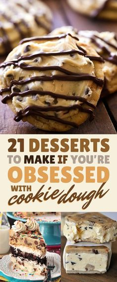 21 Of The Most Delicious Things You Can Do To Chocolate Chip Cookie Dough @buzzfeedfood