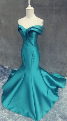 Elegant Mermaid Satin Women's Evening Party Gown,Prom Dress 2016, I would love wear for my formal, you? www.27dress.com
