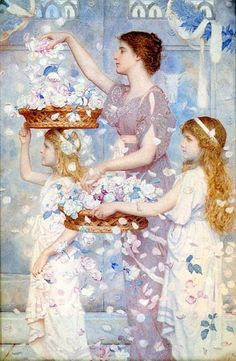George Lawrence Bulleid,   'The Empress Comes (Poppaea Comes)'