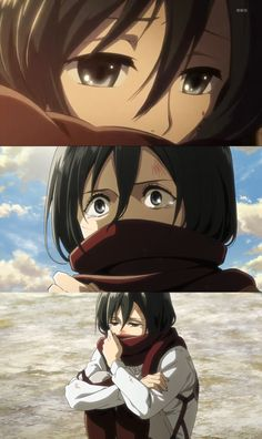 "*sobs* ""Eren where are you?"""