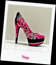 Our NEW breast cancer shoe!