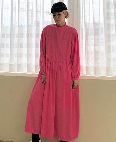 Korea Street Style, High Neck Dress, Ootd, Shirt Dress, Things To Sell, Shirts, Dresses, Fashion, Turtleneck Dress
