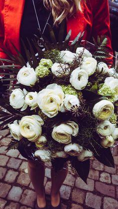 Blumen #Hochzeit #Weiß #Standesamt