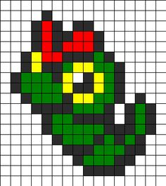 Pokemon Raupi bead pattern