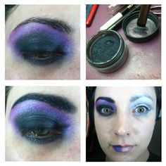 PART II I hope you enjoy this Unicorn inspired basic eye makeup tutorial. These looks can be worn individually or as a split costume. Remember that you don't have to use the exact products I do. Get...