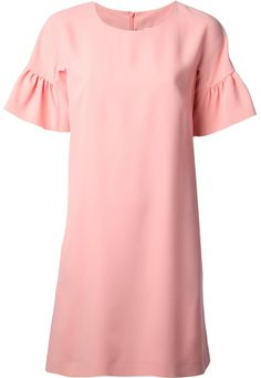 RED Valentino pleated sleeve dress on shopstyle.com