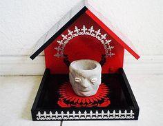 Elegua House Casa para Eleggua Orishas Santeria by OshaDesigns