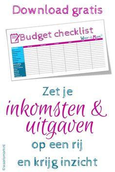 Budgetteren