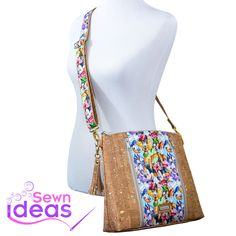 Sewn Ideas PDF sewing patterns are focused on guiding you through the pattern stitch by stitch. Learn To Sew, Learn Sewing, Nest Design, Tote Tutorial, Pdf Sewing Patterns, Zipper Pouch, Crossbody Bag, Shoulder Bag, Bags