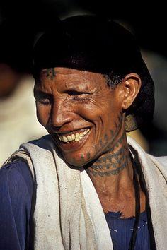 faces,The Ethiopian smile.