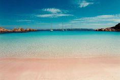Sardegna: Spiaggia Rosa, Isola di Budelli