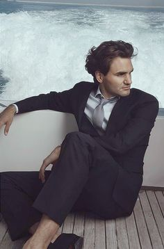 Roger Federer and he shares the same birthday as Bernard