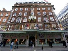 Known as the Queen's grocer, Fortnum and Mason was established back in the 1700s. Here you'll find exquisite food and drink of all kinds along with traditional afternoon tea.