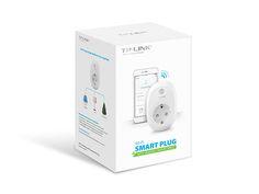 Wi-Fi Smart Plug με Παρακολούθηση Κατανάλωσης Ενέργειας - TP-Link